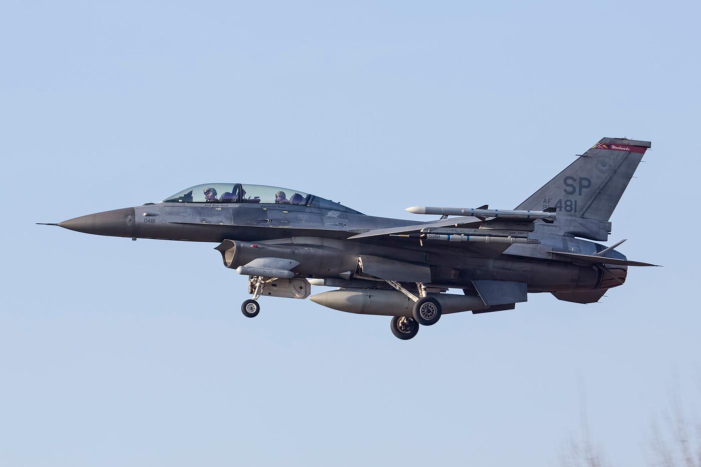 SPM 13.02.2015; 91-0481, F-16D, 52nd FW Spangdahlem (Deutschland)
