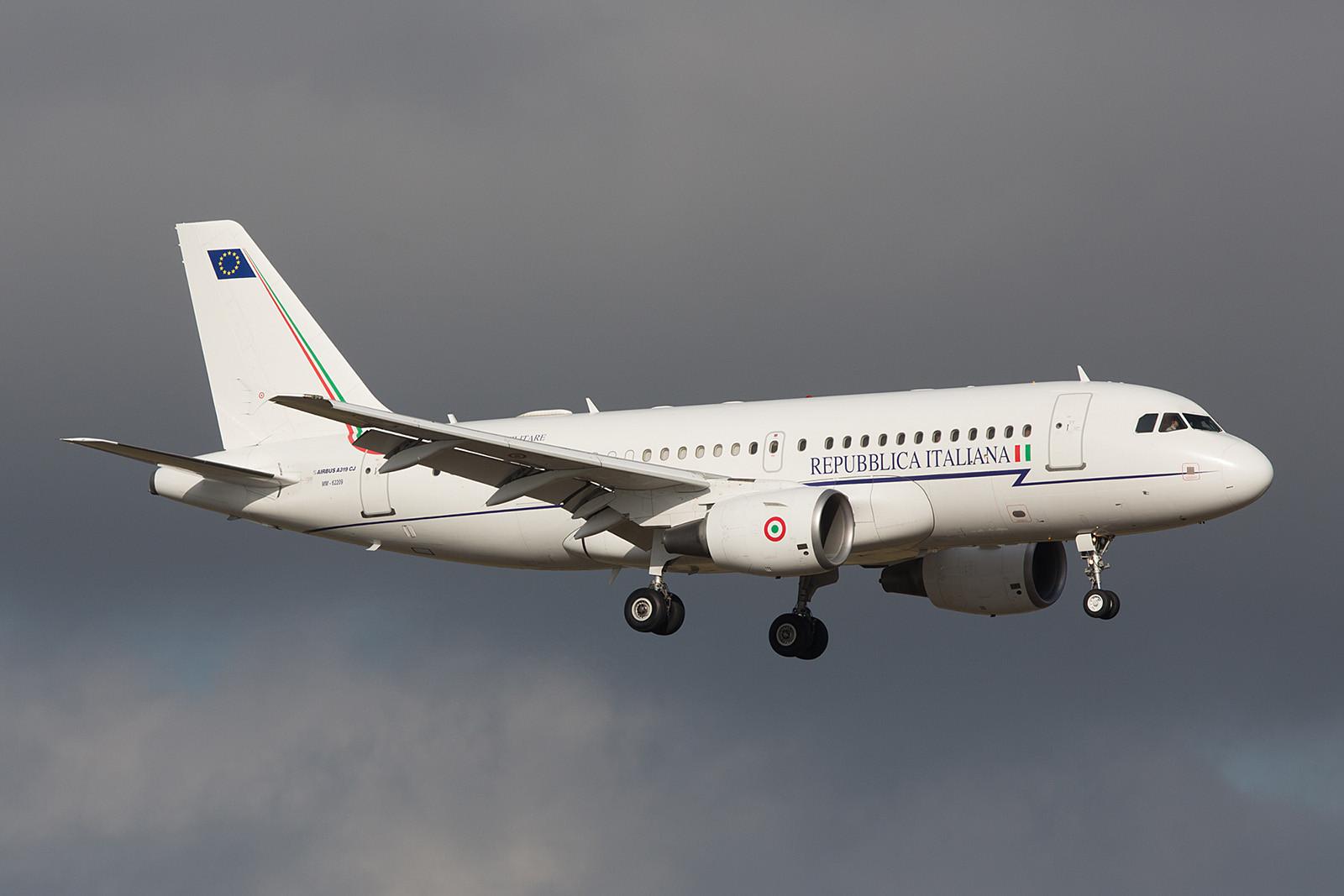 MM62209; Airbus A319-115X (CJ) der Aeronautica Militare