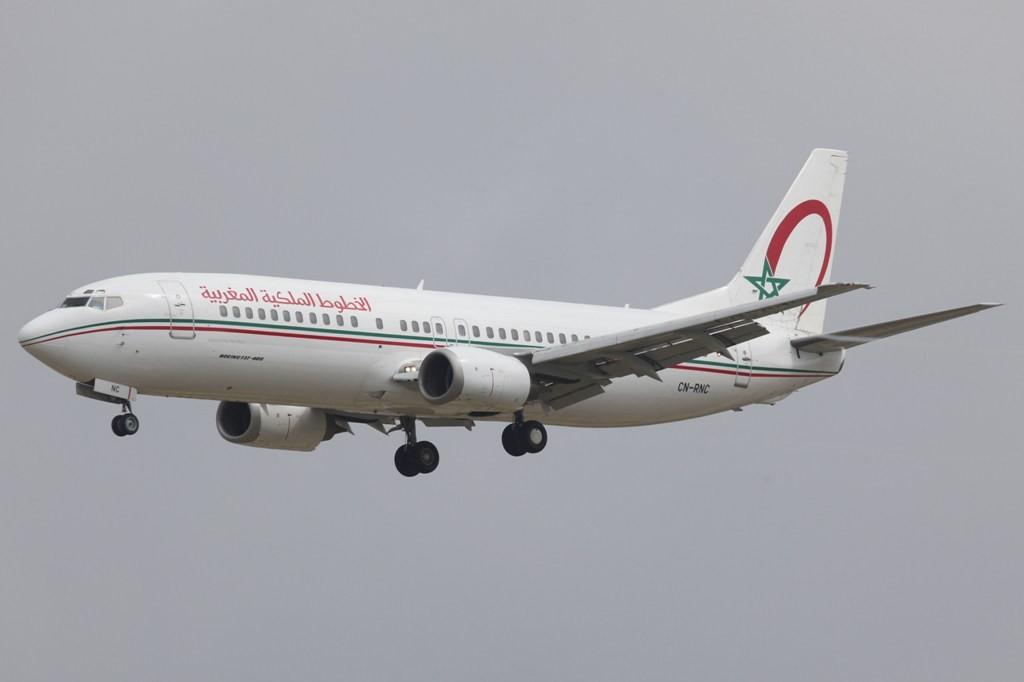 Nur einen kurzen Flug hat die Royal Air Maroc.