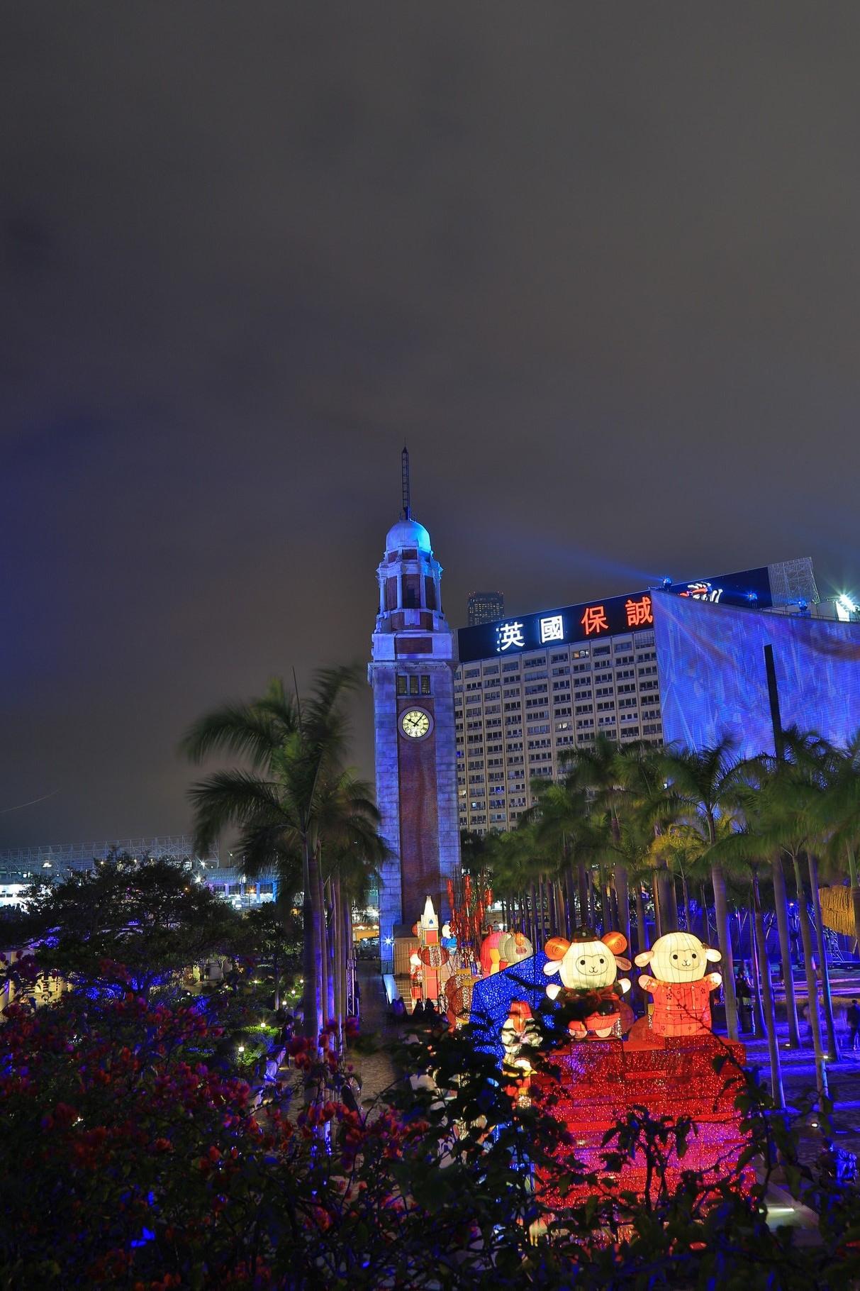 Buntes Treiben in Kowloon.