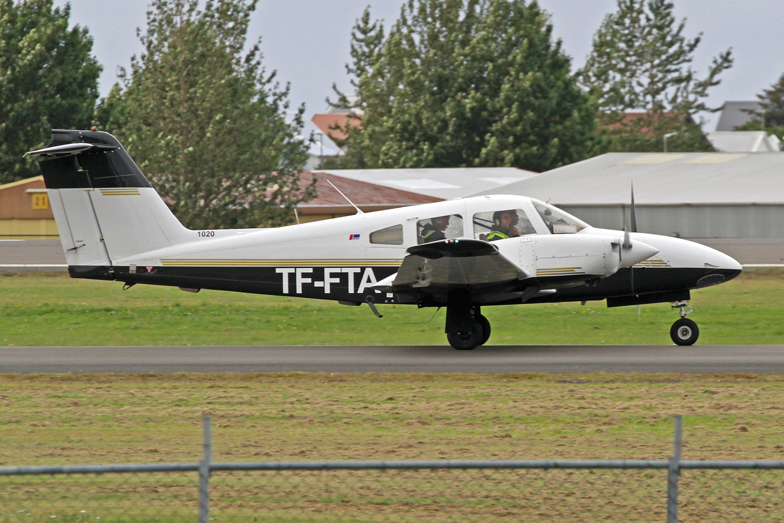 Keilir Aviation Academy Piper PA-44-180 TF-FTA, RKV, 10. August 2020