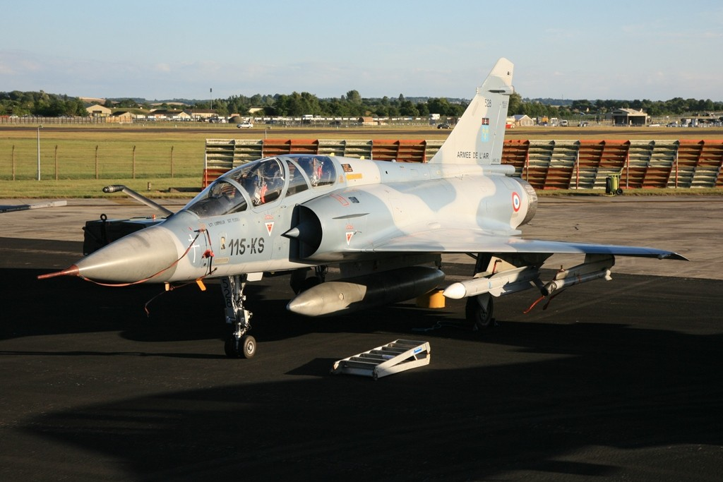 Mirage 2000B der Armee d´l Air aus Orange.