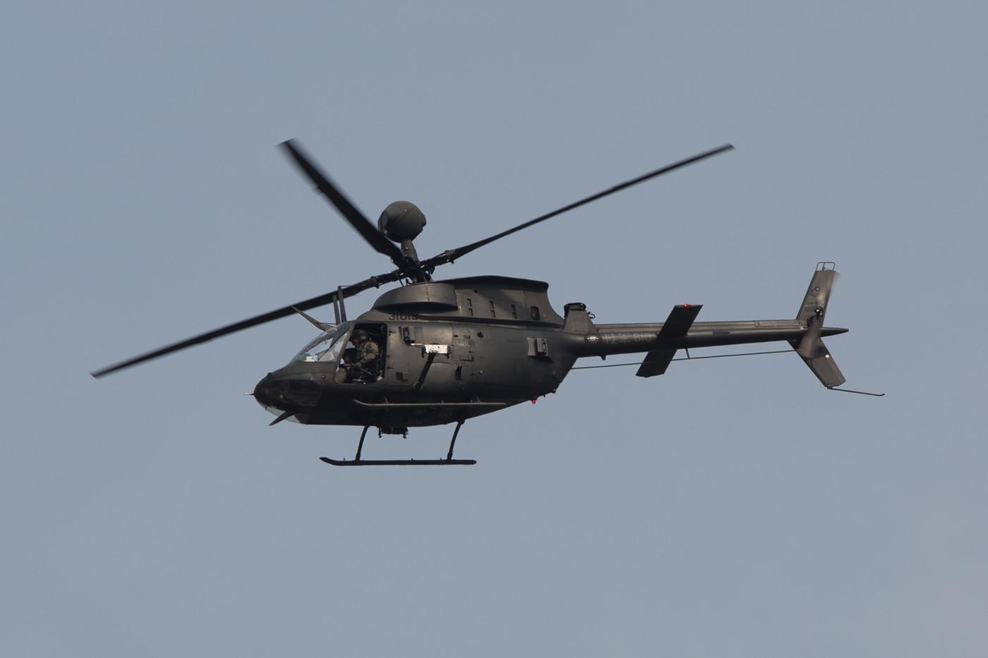 Bell OH-58 Kiowa der Army.