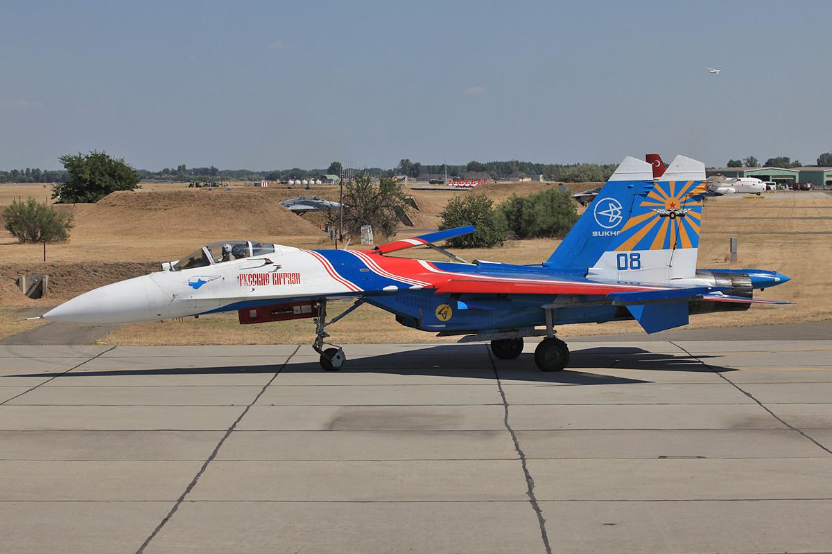 Einsitzer Su-27S