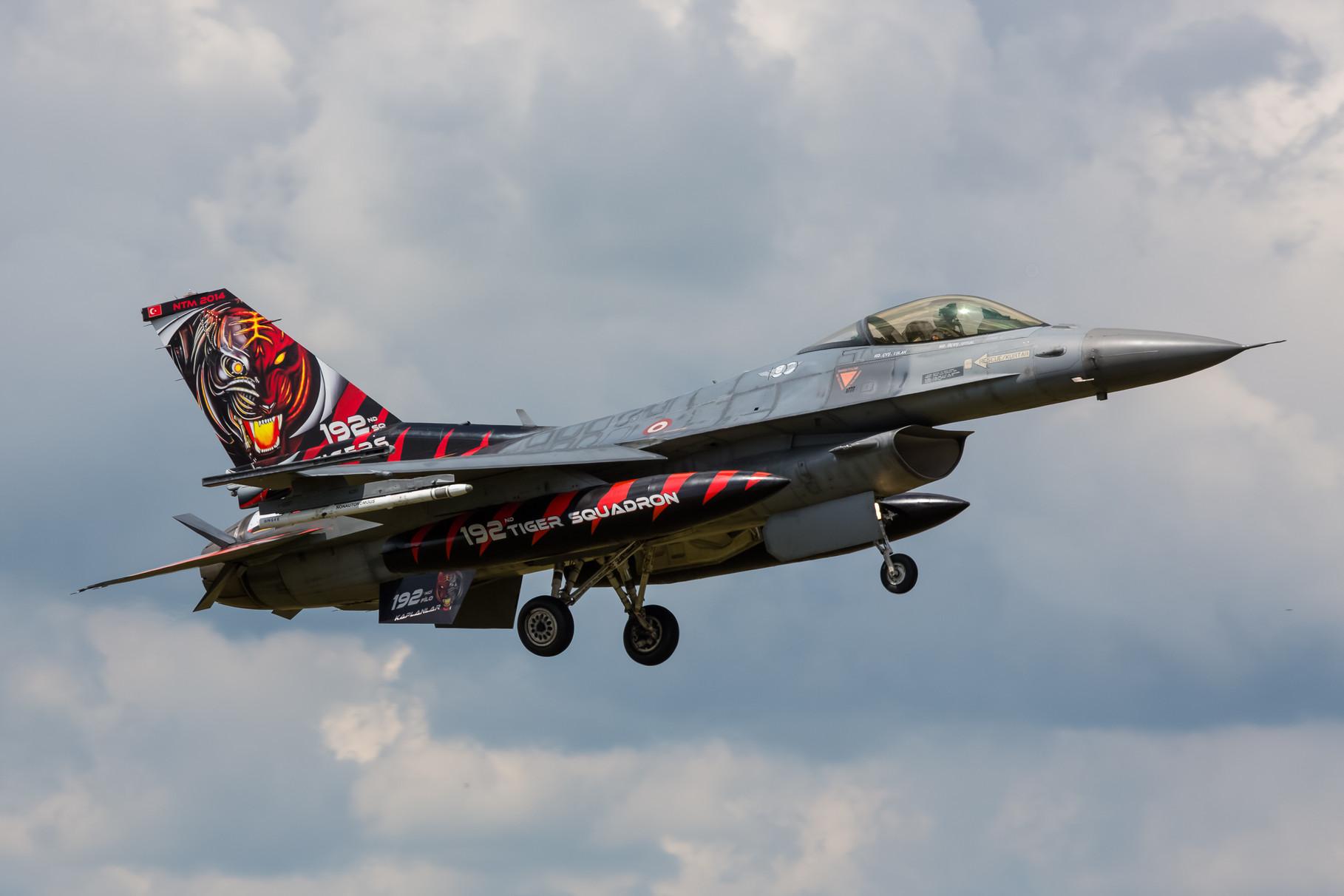 Sie sind Gastgeber im nächsten Jahr, die F-16 der 192 Filo aus Balekesir.