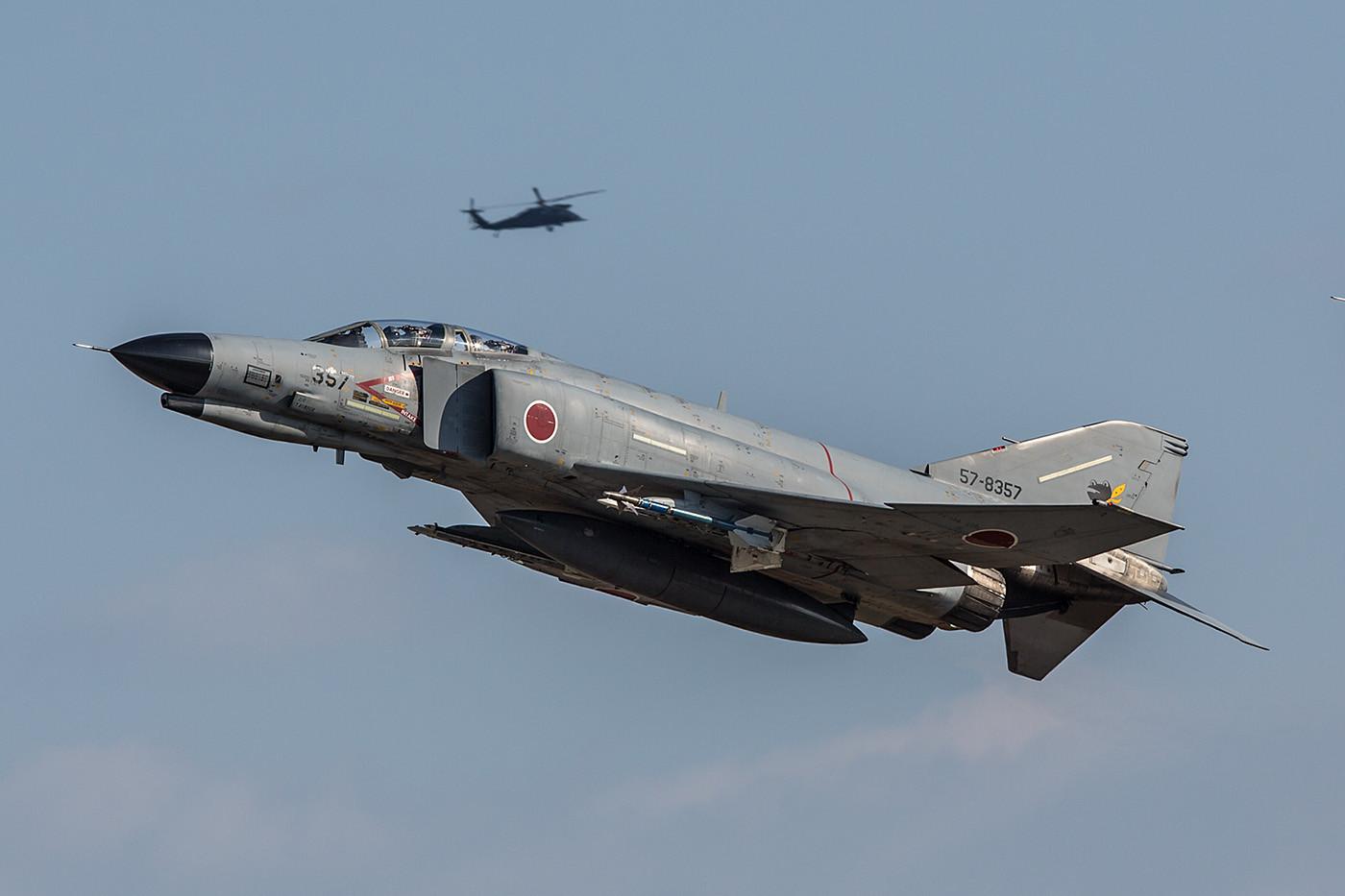 """Im ADTW fliegen ebenfalls noch einige F-4, dort sogar noch welche die nicht auf den Standard """"Kai"""" gebracht wurden."""