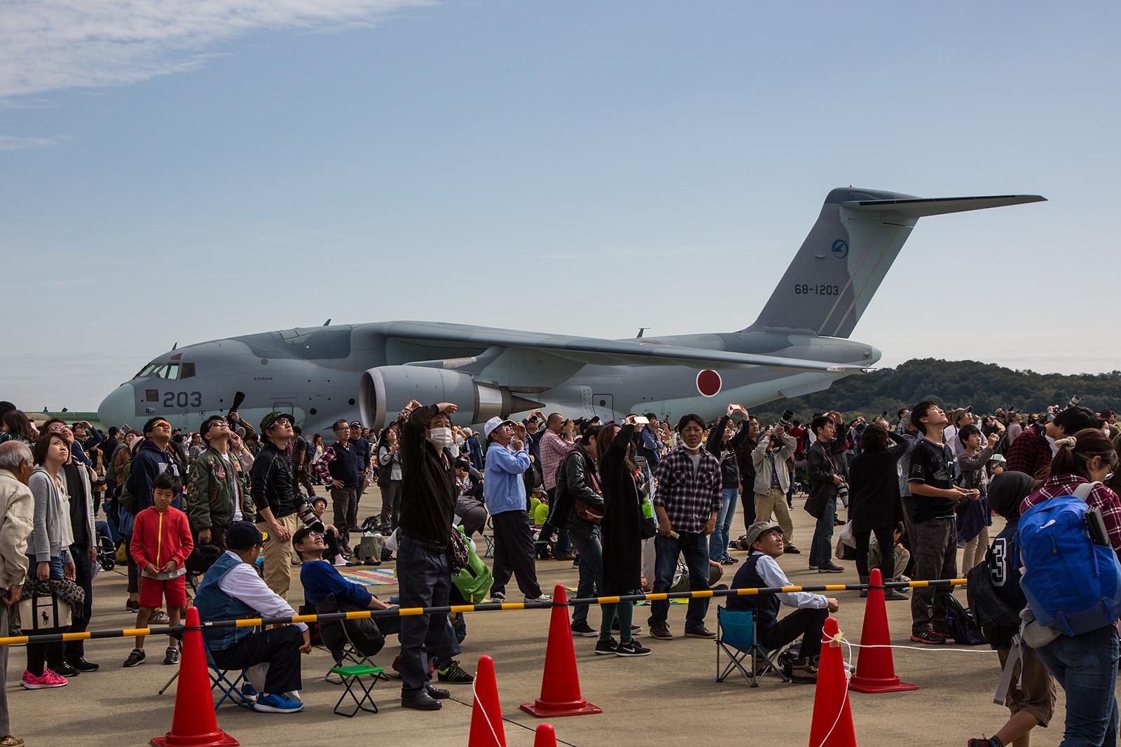 Mittlerweile sind drei Exemplare der C-2 fertig, jedoch läßt die Truppeneinführung in Miho noch auf sich warten.