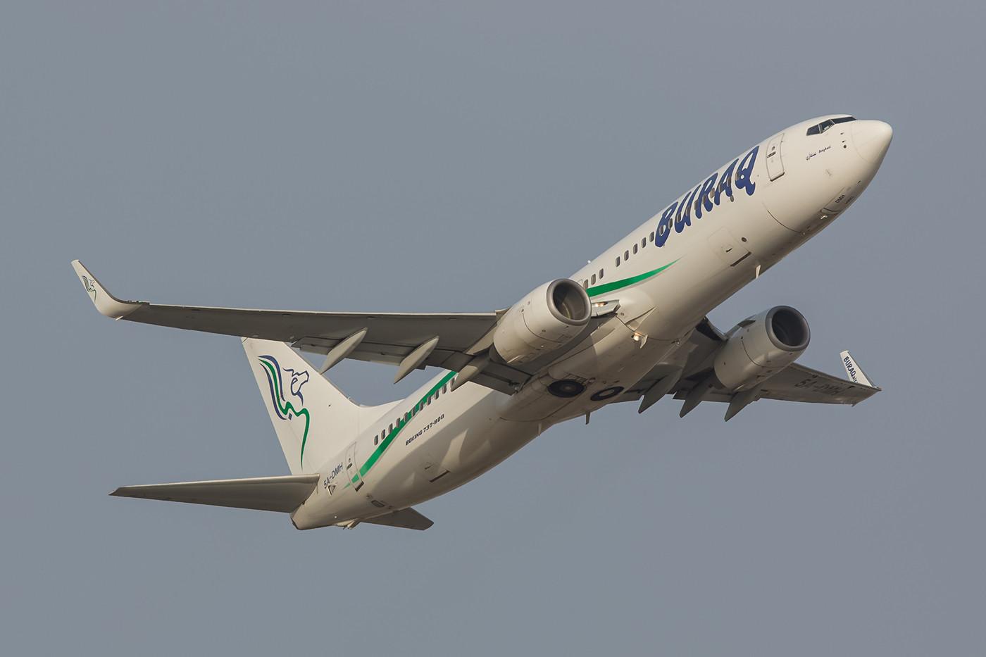 Buraq Air Boeing 737-800 aus Libyen