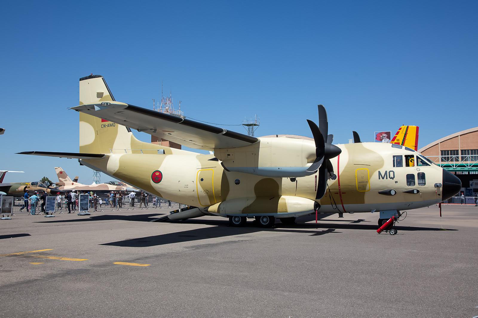 Insgesamt 4 C-27J Spartan sind bei der RMAF im Dienst.
