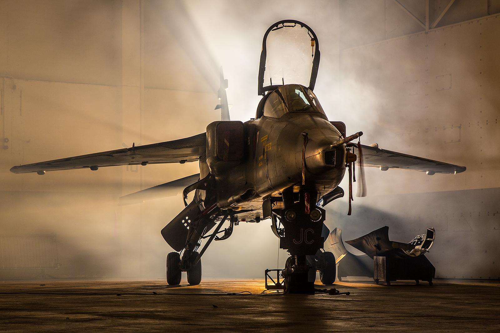 Die Jaguare in Brüggen wurden ab 1984 durch Tornado GR.1 ersetzt.