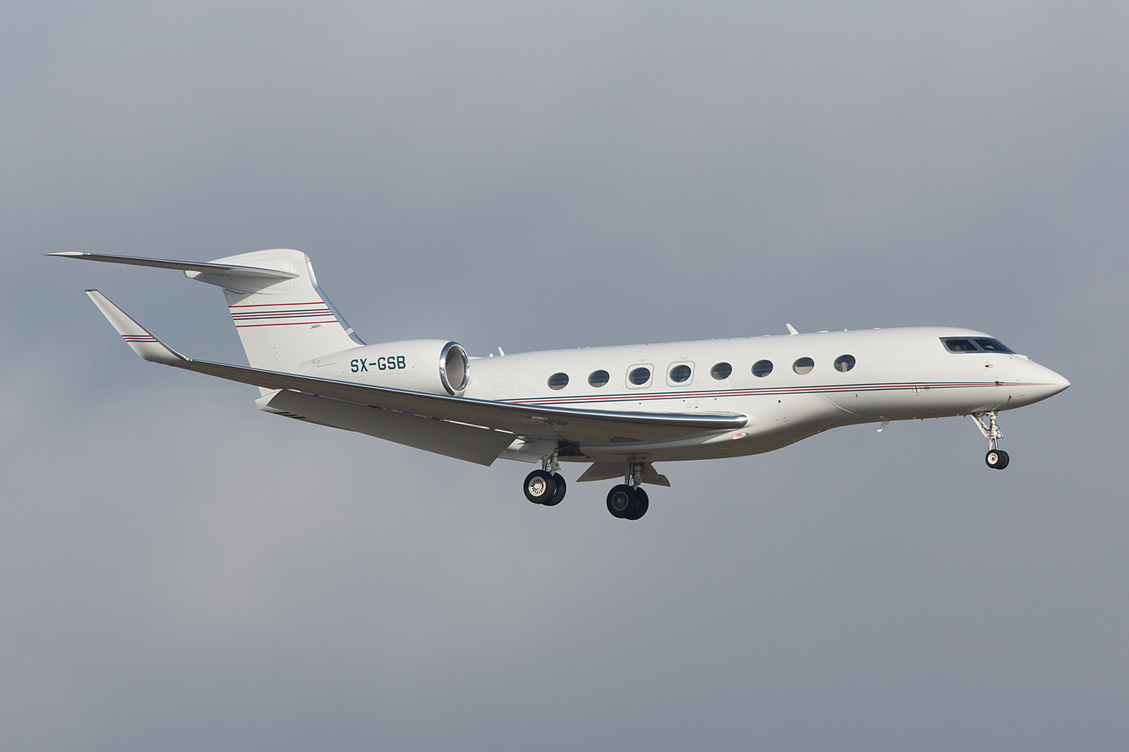 SX-GSB; GainJet Aviation Gulfstream G650