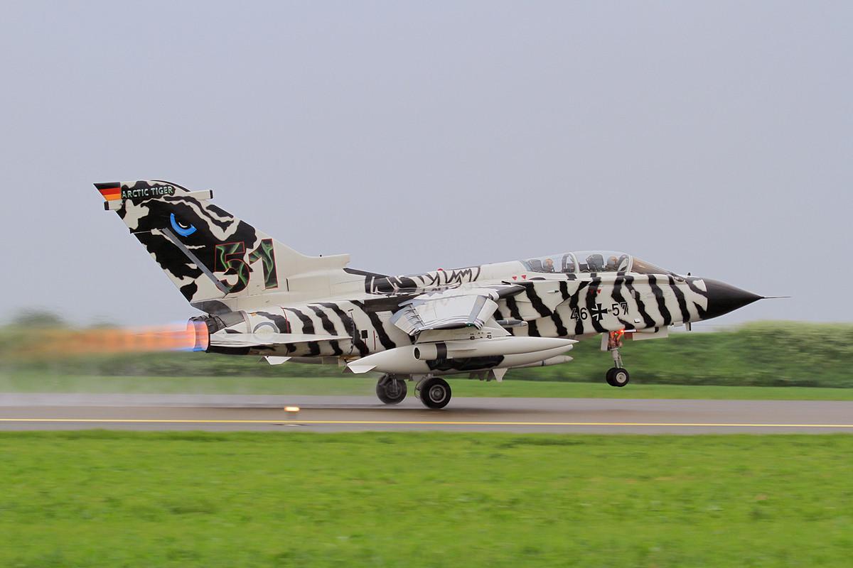 Der deutsche Tiger war eine der wenigen volllackierten Maschinen....
