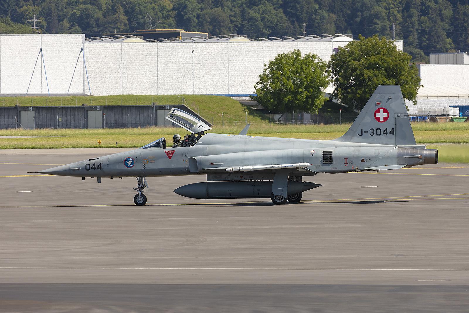 Außer Spanien ist die Schweiz der letzte Nutzer der Northrop F-5.