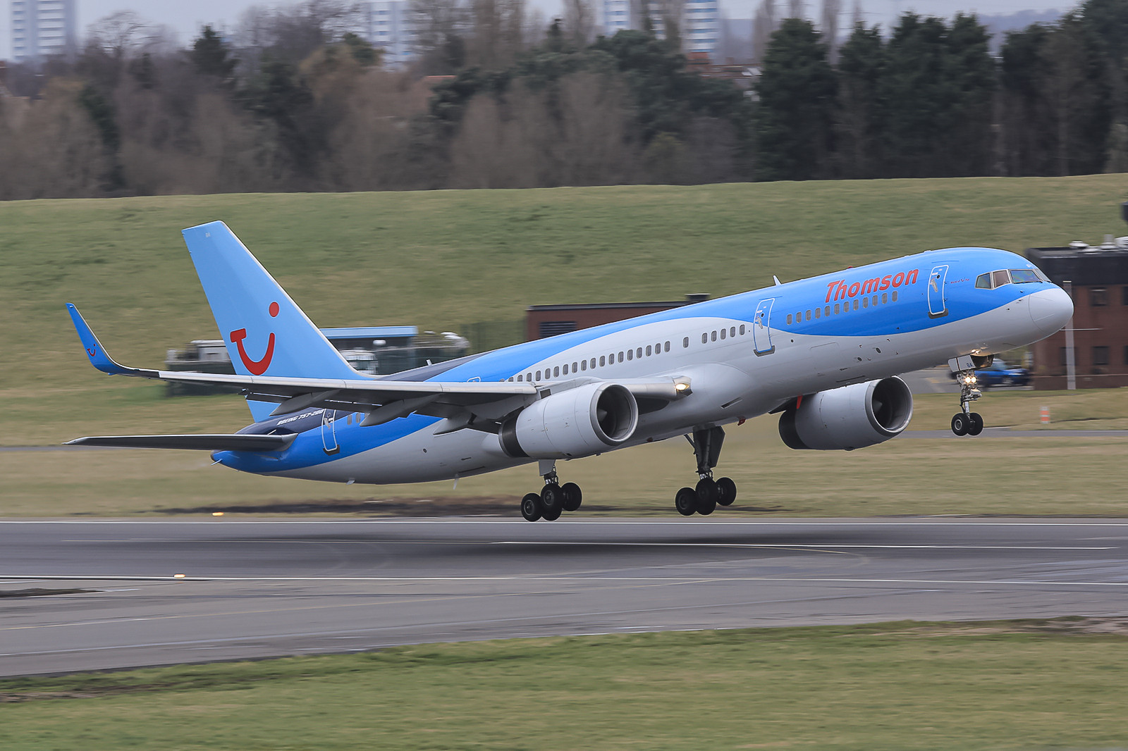 ex-Air2000, ex-First Choice und nun Thomson Boeing 757-200
