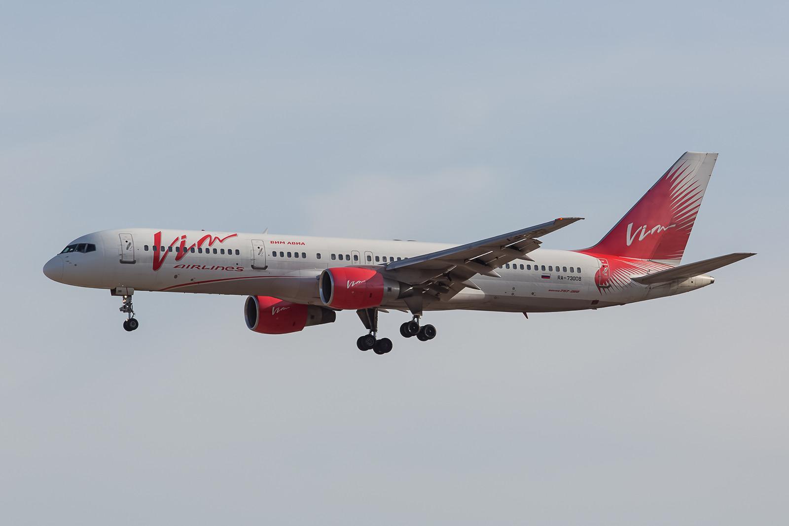 Noch eine russische Airline die nach Teneriffa kommt, die Vim Air. Auch wenn die Flotte verkleinert wurde und drei Maschinen derzeit auf dem Hahn abgewrackt werden, ist sie doch immer noch aktiv.
