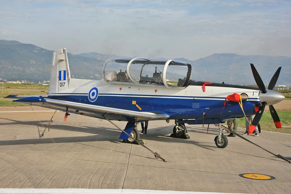 T-6A Texan II für die Basisausbildung.