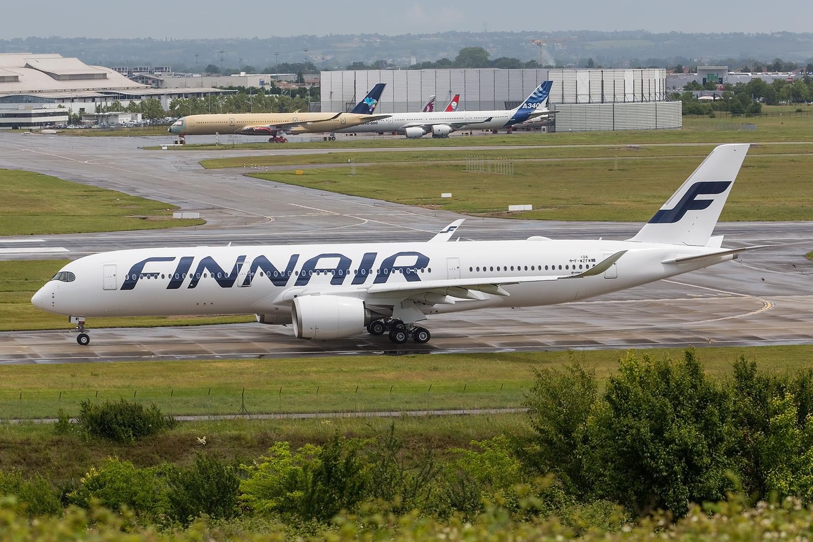 A350 für die Finnair.