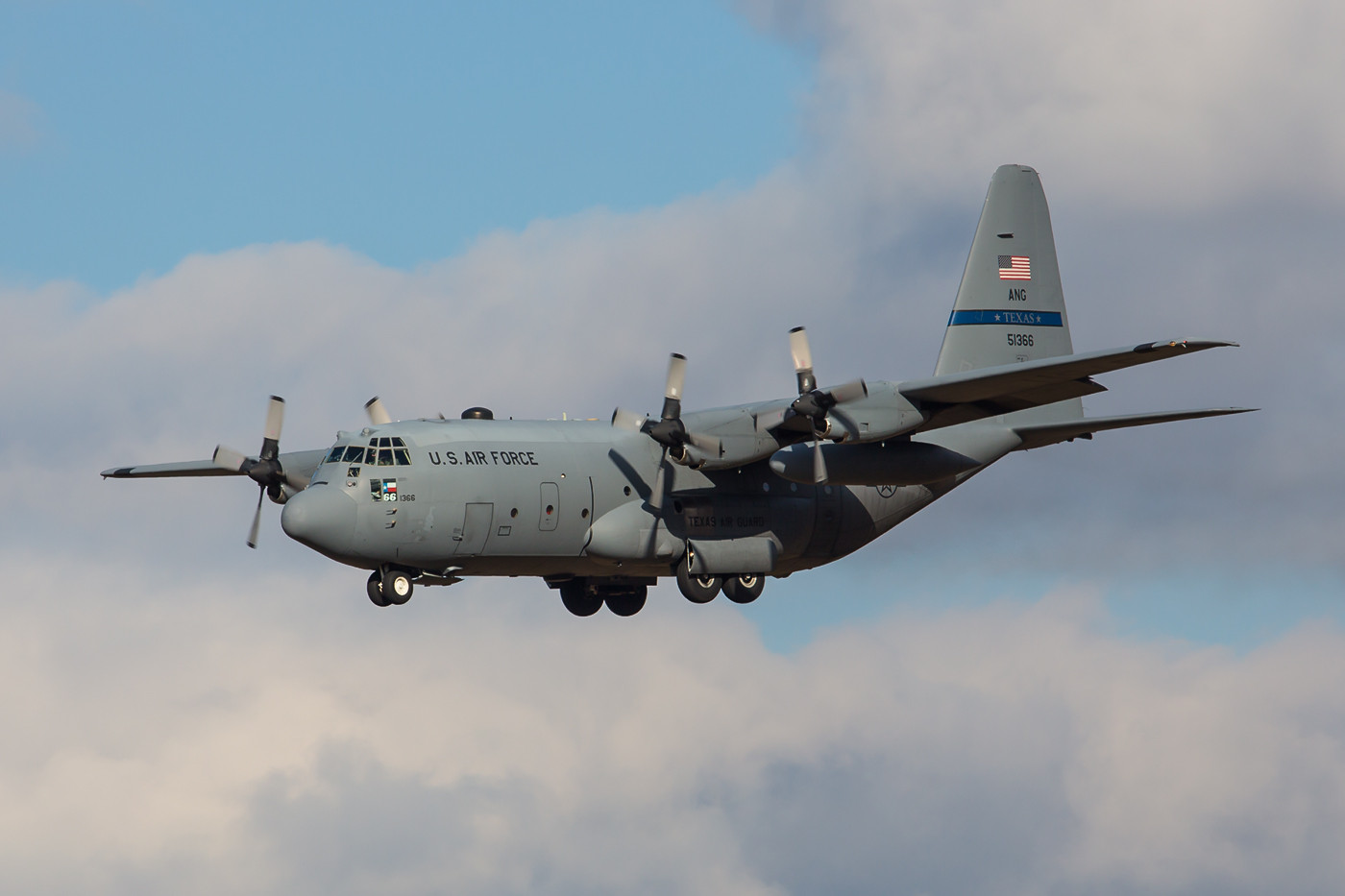 RMS 22.02.2015; C-130E; 85-1366; 136 AW Texas Air National Guard, Carswell Field (Naval Air Station Joint Reserve Base Fort Worth)