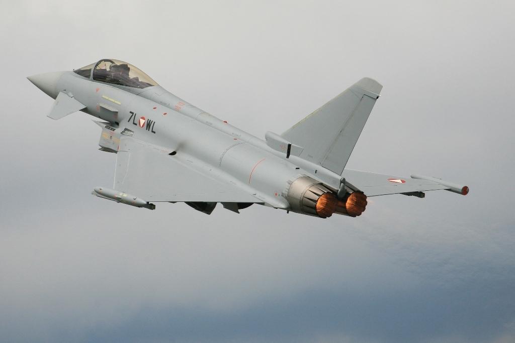 Der österreichische Eurofighter aus Zeltweg