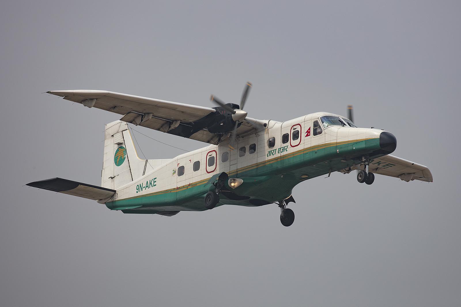 Dornier Do-228 der Tara Air, einer Tochter der Yeti Air.