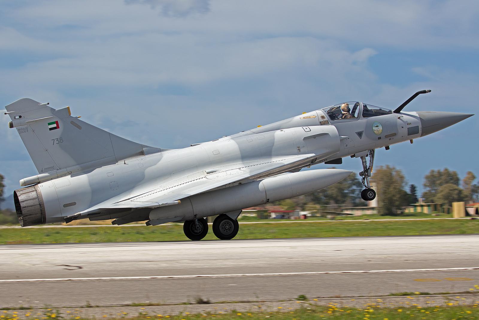 738, AMD Mirage 2000-9 der I Shaheen Sqn aus Al Dhafra (Abu Dhabi).