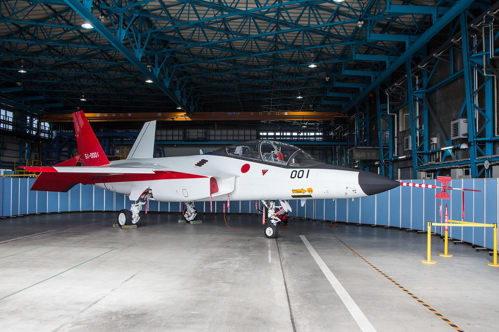 Japans Zukunft im Bereich Fighter ist neben der F-35 die X-2 von Mitsubishi.