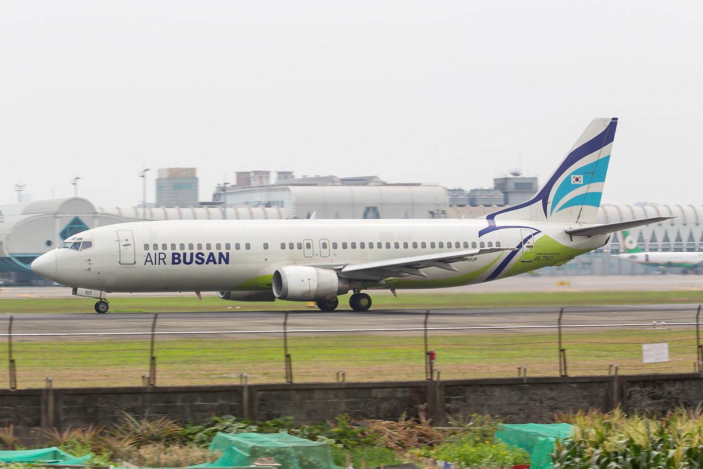 Boein 737-400 der Asianatochter Air Busan