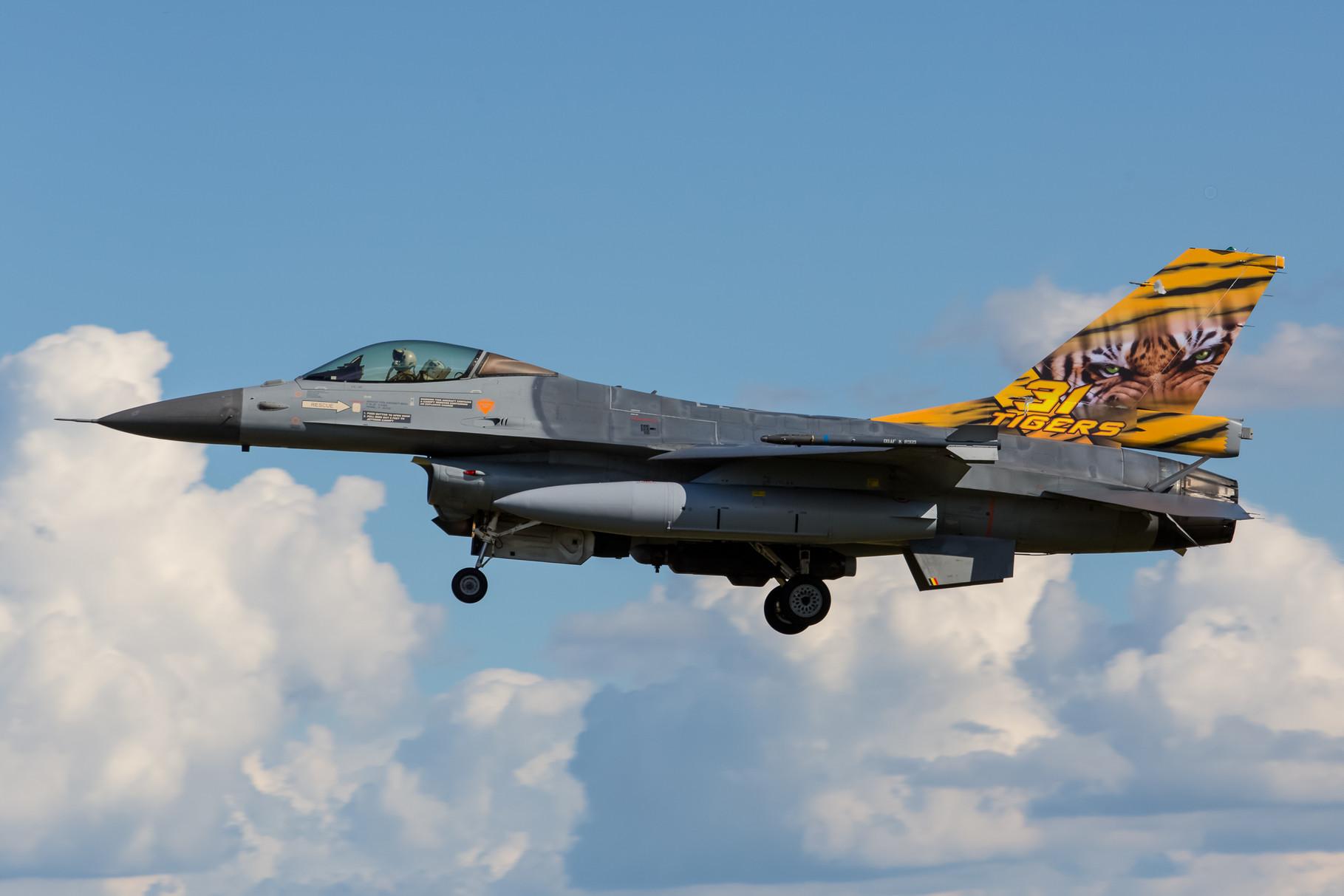 F-16C aus 31 Smaldeel aus Kleine Brogel