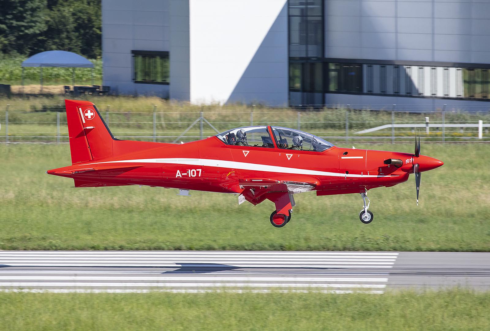 Das beste Propellertrainigsflugzeug auf dem Markt, die PC-21.