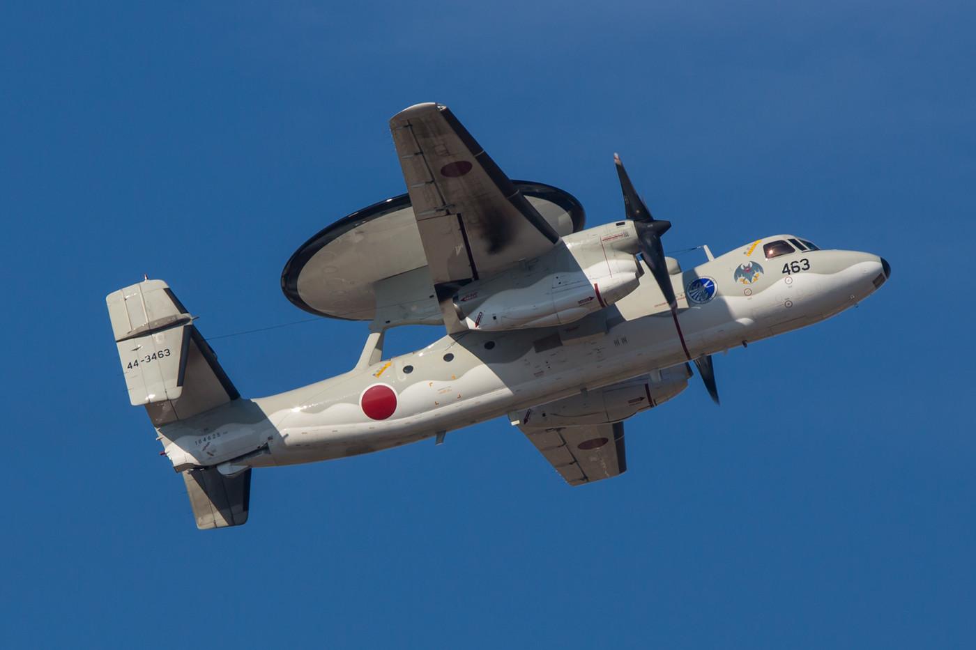 Ein Teil der japanischen E-2C ist in Misawa stationiert, der Rest ist in Naha zuhause.