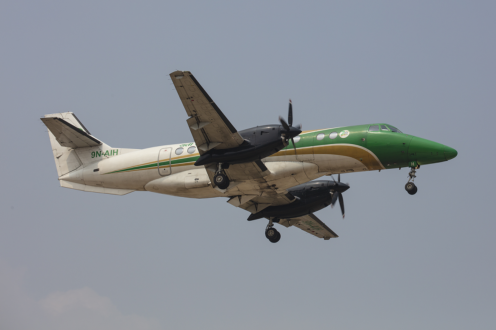 Yeti Air betreibt einige Jetstream 41, leider hat es nicht mit einem Flug geklappt.