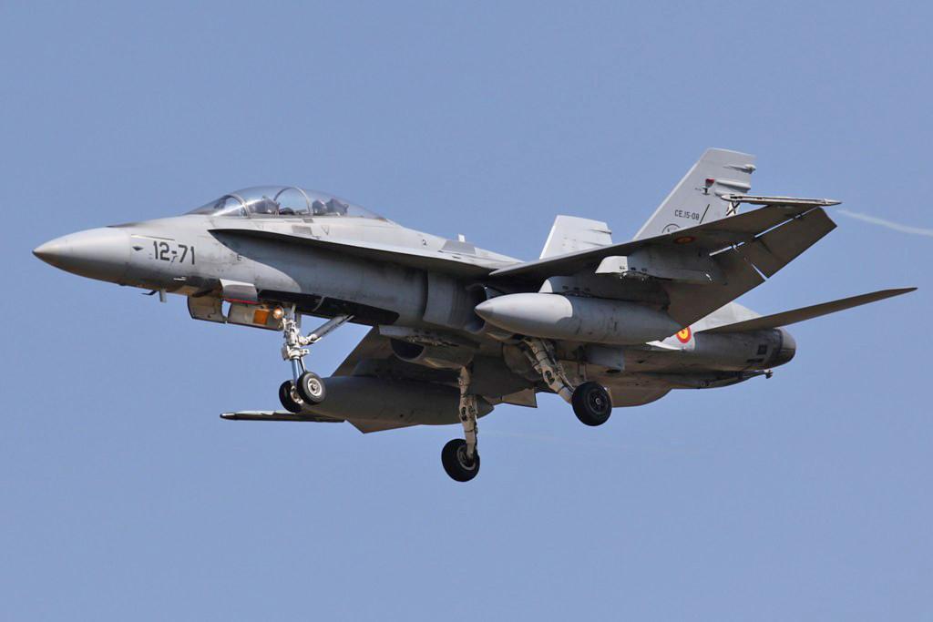 Ein Dopelsitzer F/A-18B