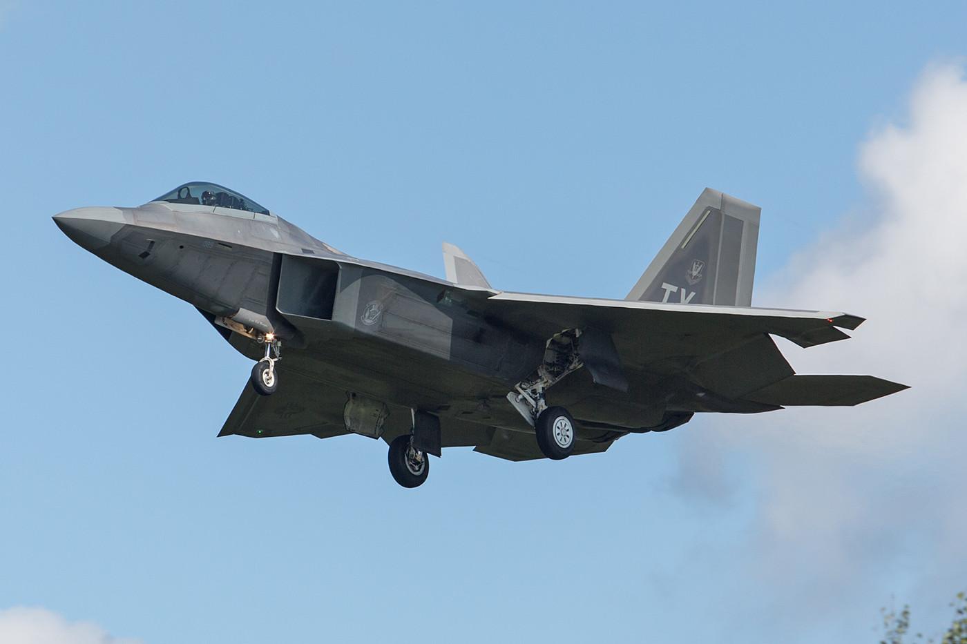 SPM 03.09.2015; 05-4089, Lockheed F-22A, 95th FS Tyndal AFB (FL)