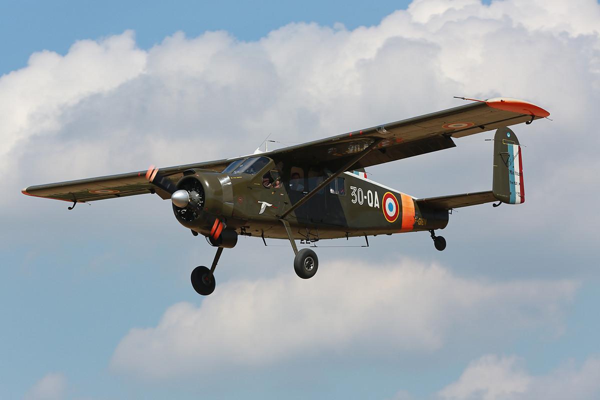 Mit der Max Holste Broussard konnte man Rundflüge machen.