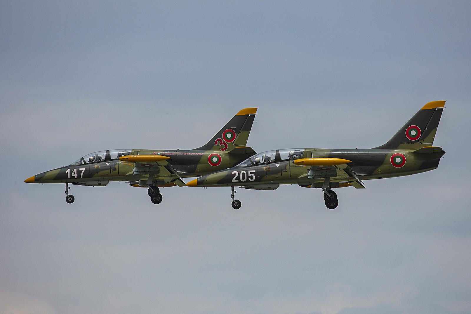 Zwei Aero L-39ZA aus Dolna Mitropolia.