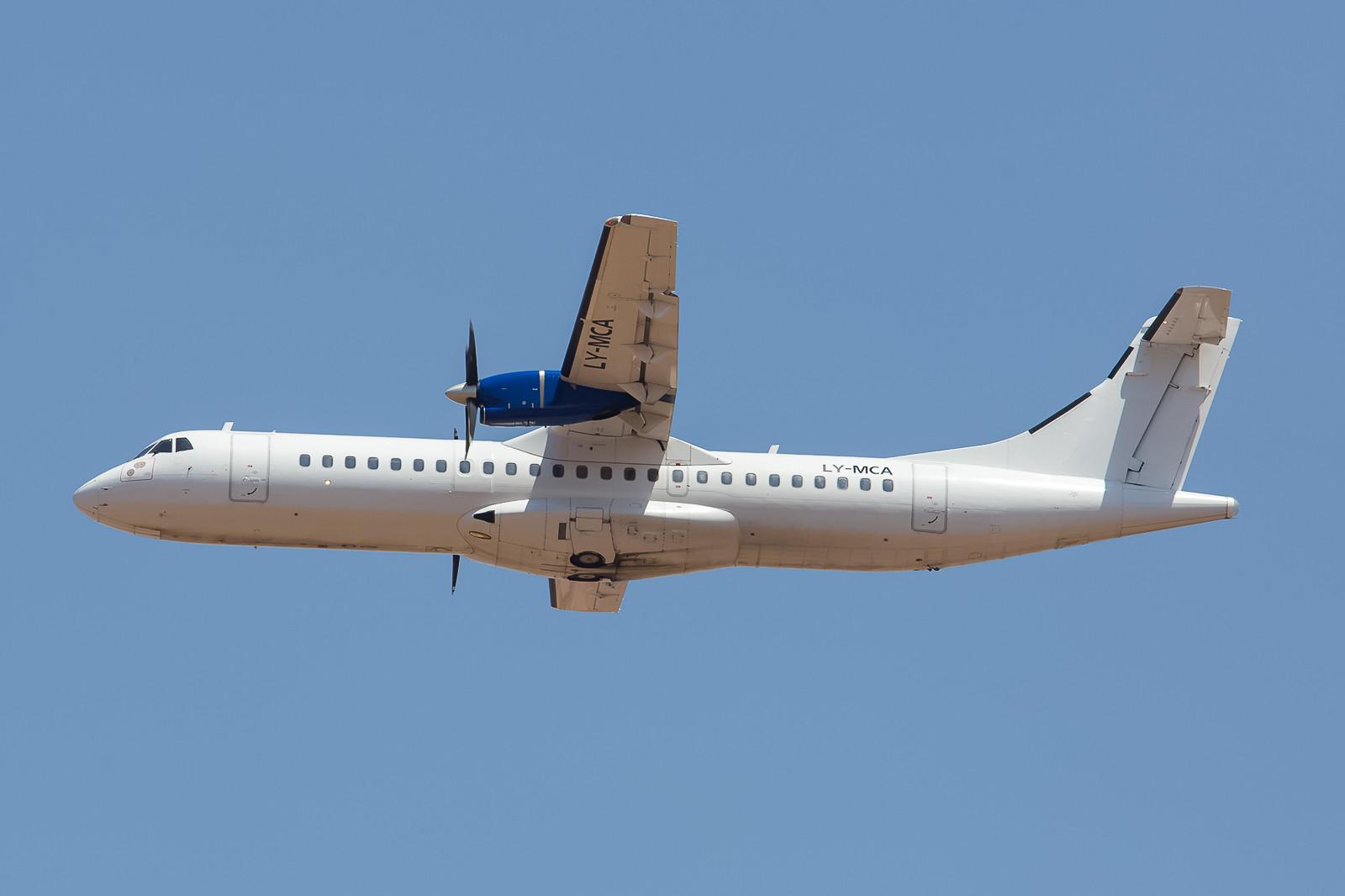 23 Jahre ist diese ATR72-201 nun schon alt. Sie flog u.a. bei Hansung, Transasia, Aero Airlines, Finnair, Goldenair, Blue1 und Danu Oro. Neuer Eigentümer ist jetzt Royal Air Maroc.