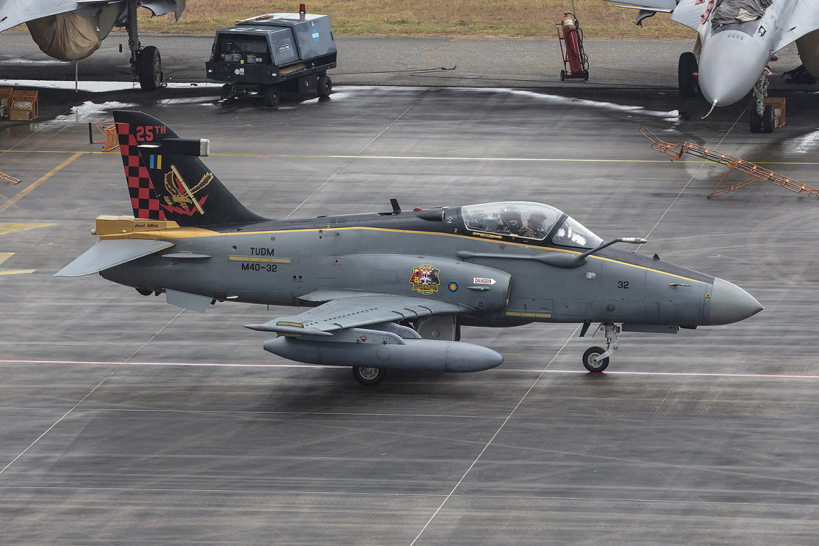 BAe Hawk MK.208 aus Labuan auf Borneo.