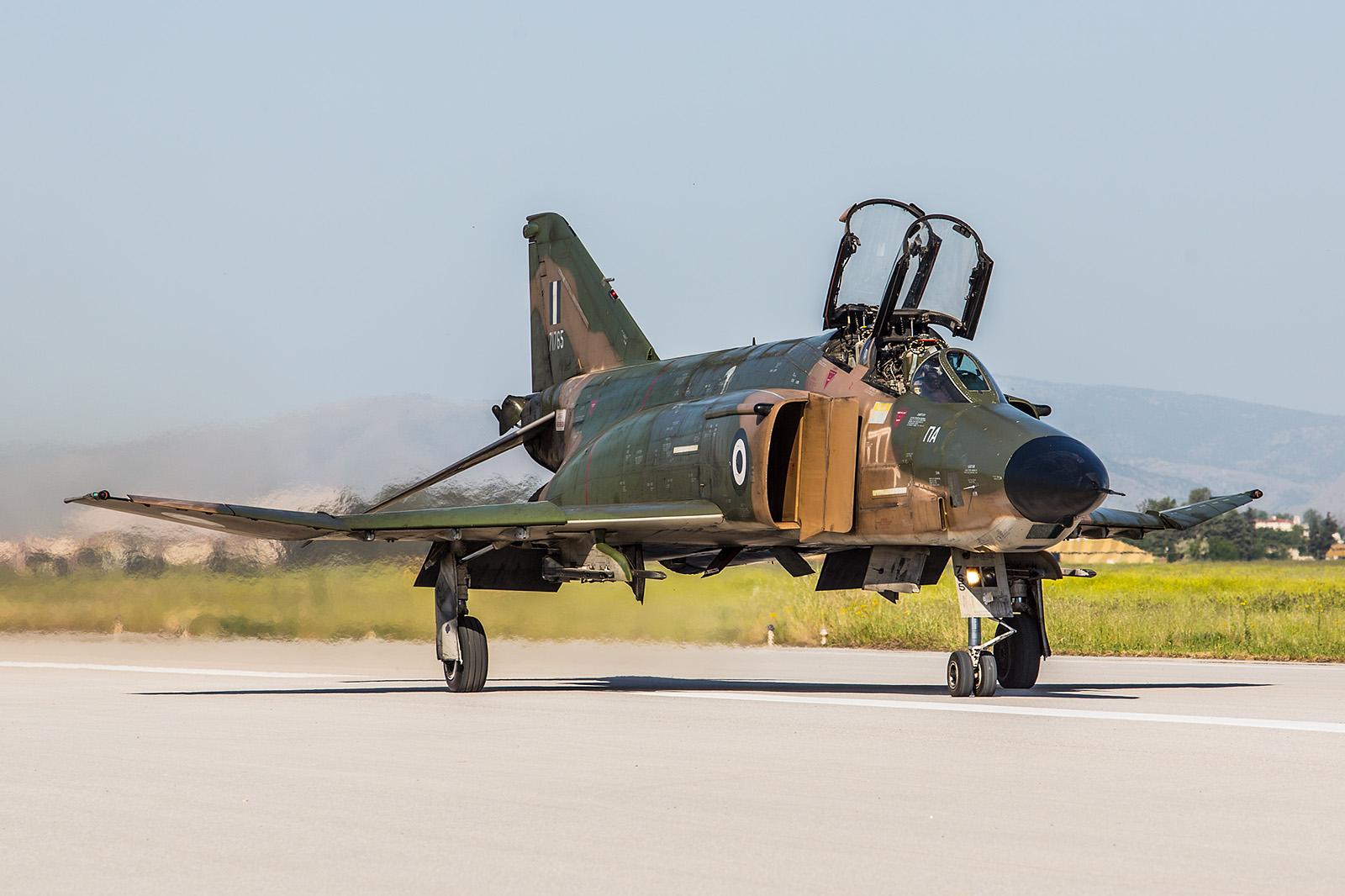 Dies war die normale Lackierung der RF-4 in der HAF.