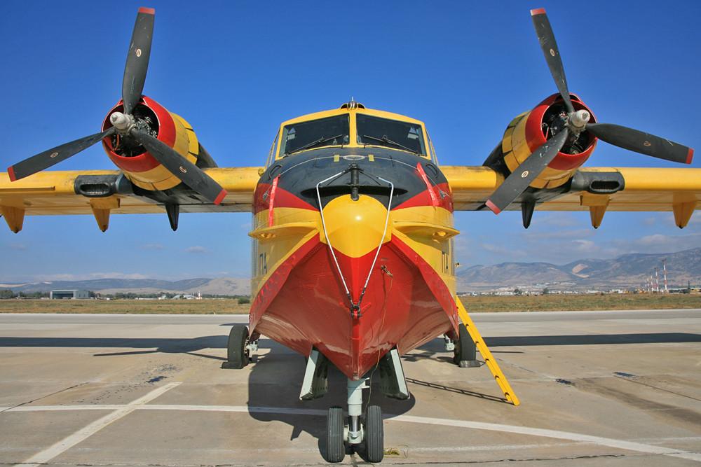 CL-215 Frontstudie.