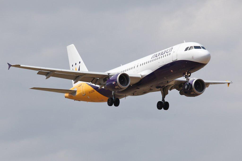 Die Monarch ist einer der wenigen noch eigenständig operierenden Ferienflieger aus Großbritannien.