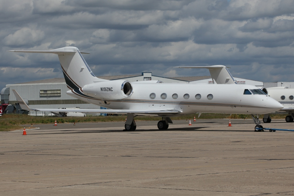Gulfstream 450 in Le Bourget.