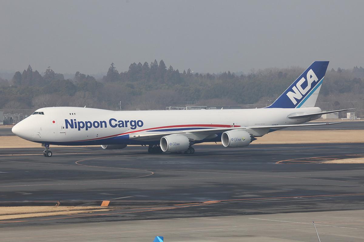 Auch Nippon Cargo hat schon die Boeing 747-8F eingrflottet.