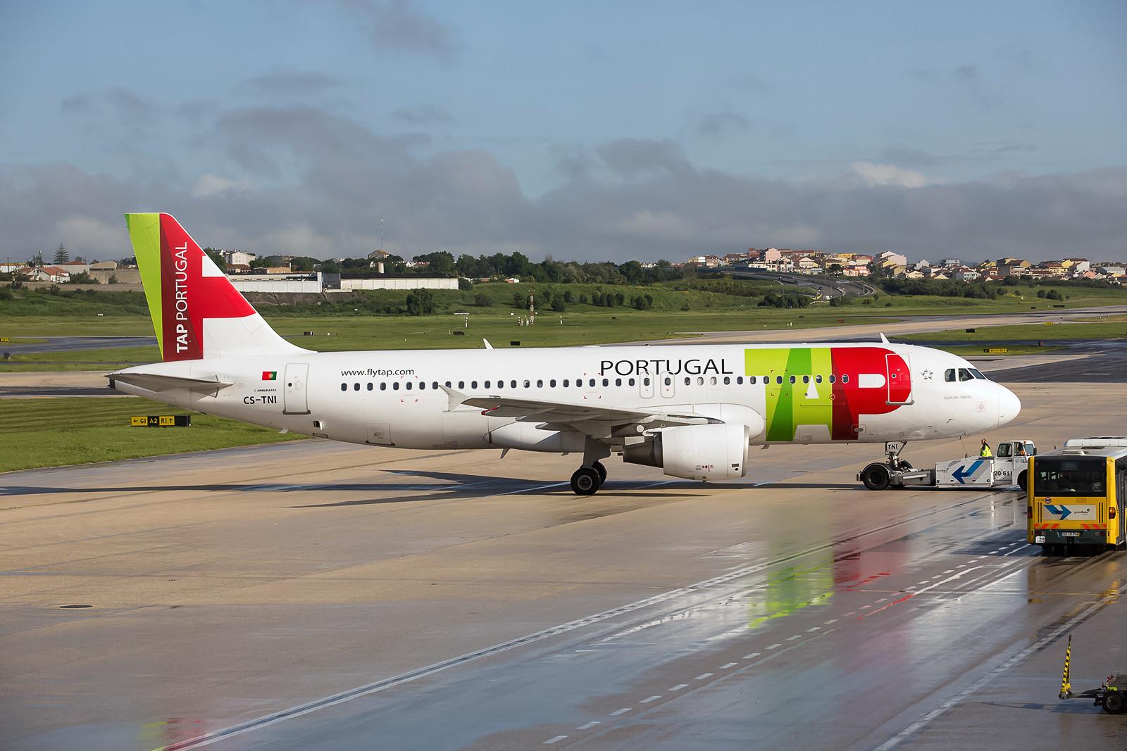 Das Rückgrad der TAP-Flotte sind die Airbusse der Typenreihe 319/320/321.