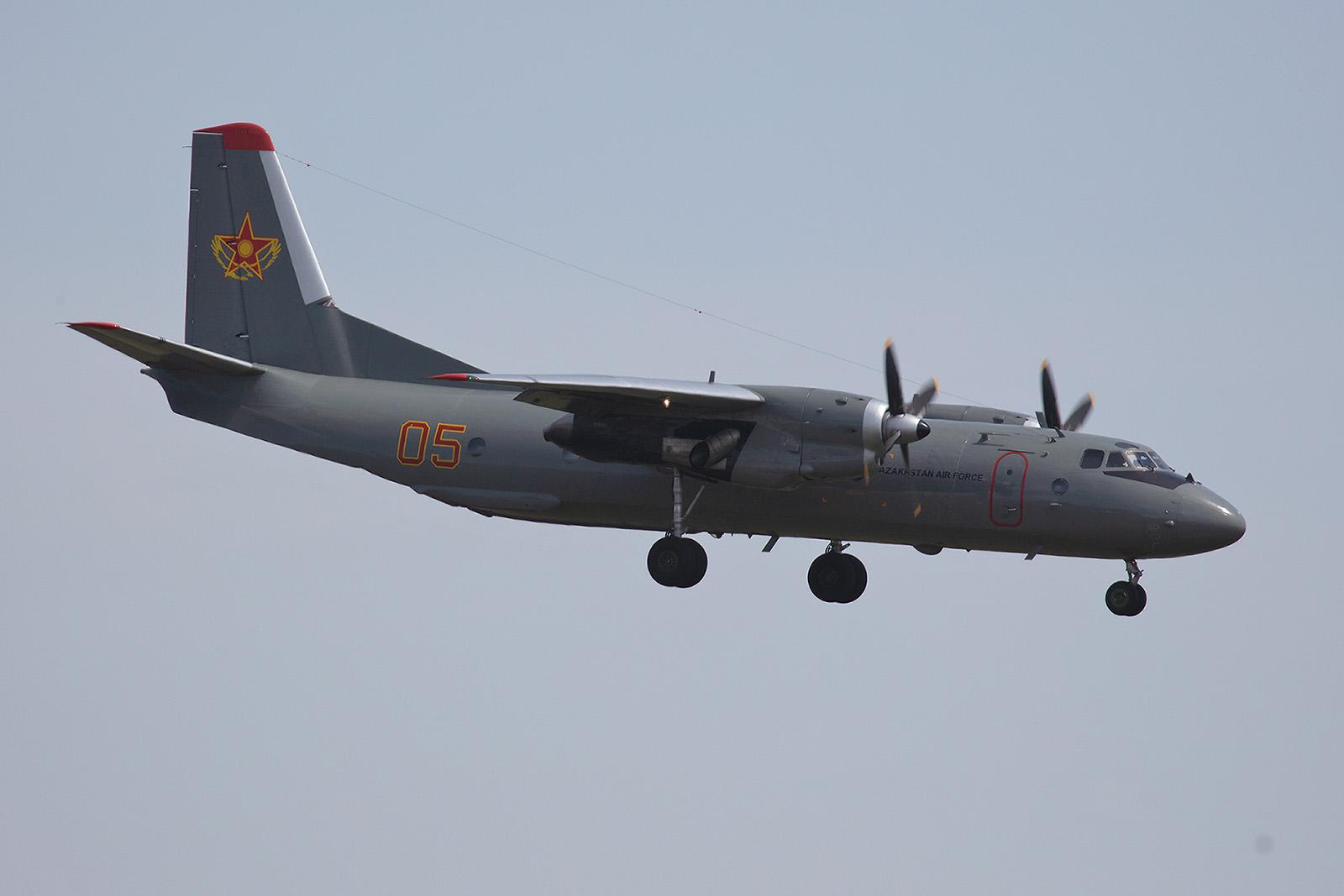 In der Luftwaffe werden die Antonov´s selten, da sie durch CASA´s ersetzt werden.