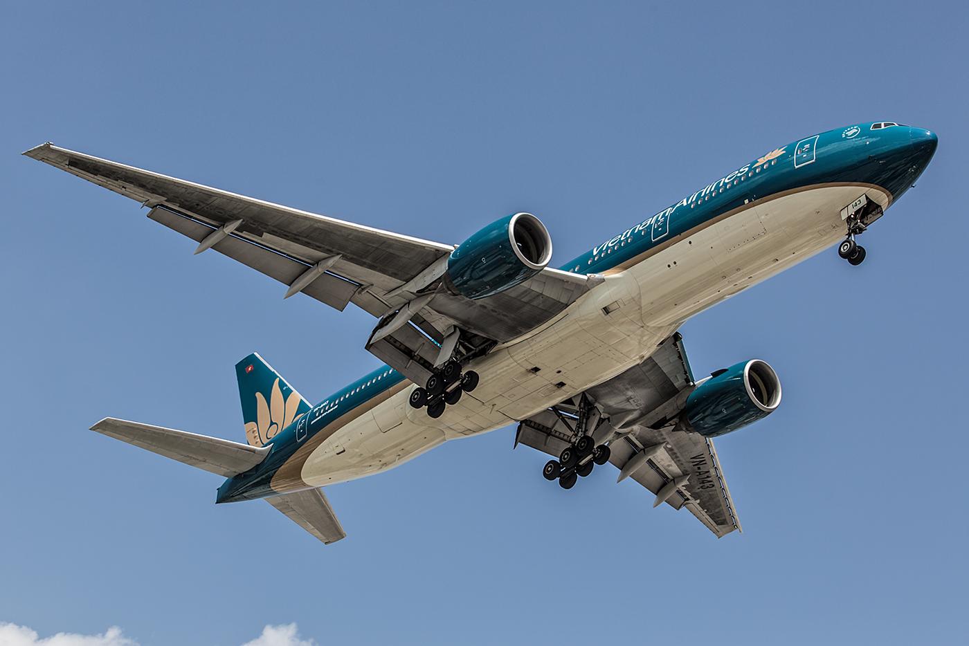 Nur noch wenige Boeing 777 sind in der Flotte von Vietnam Airlines.