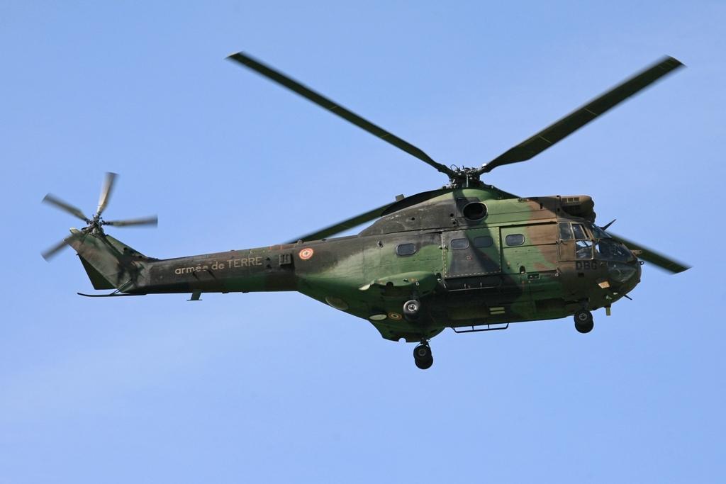 Ein SA 330B Puma der armee de TERRE
