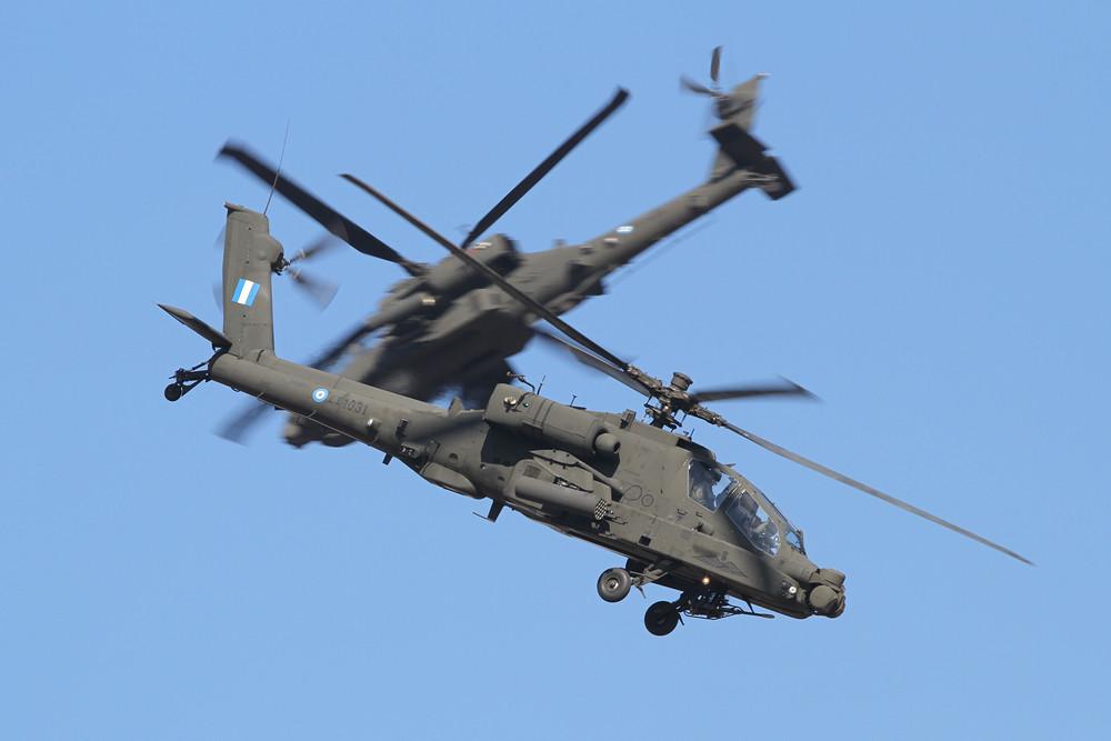 Das Apachedisplay aus Megara.