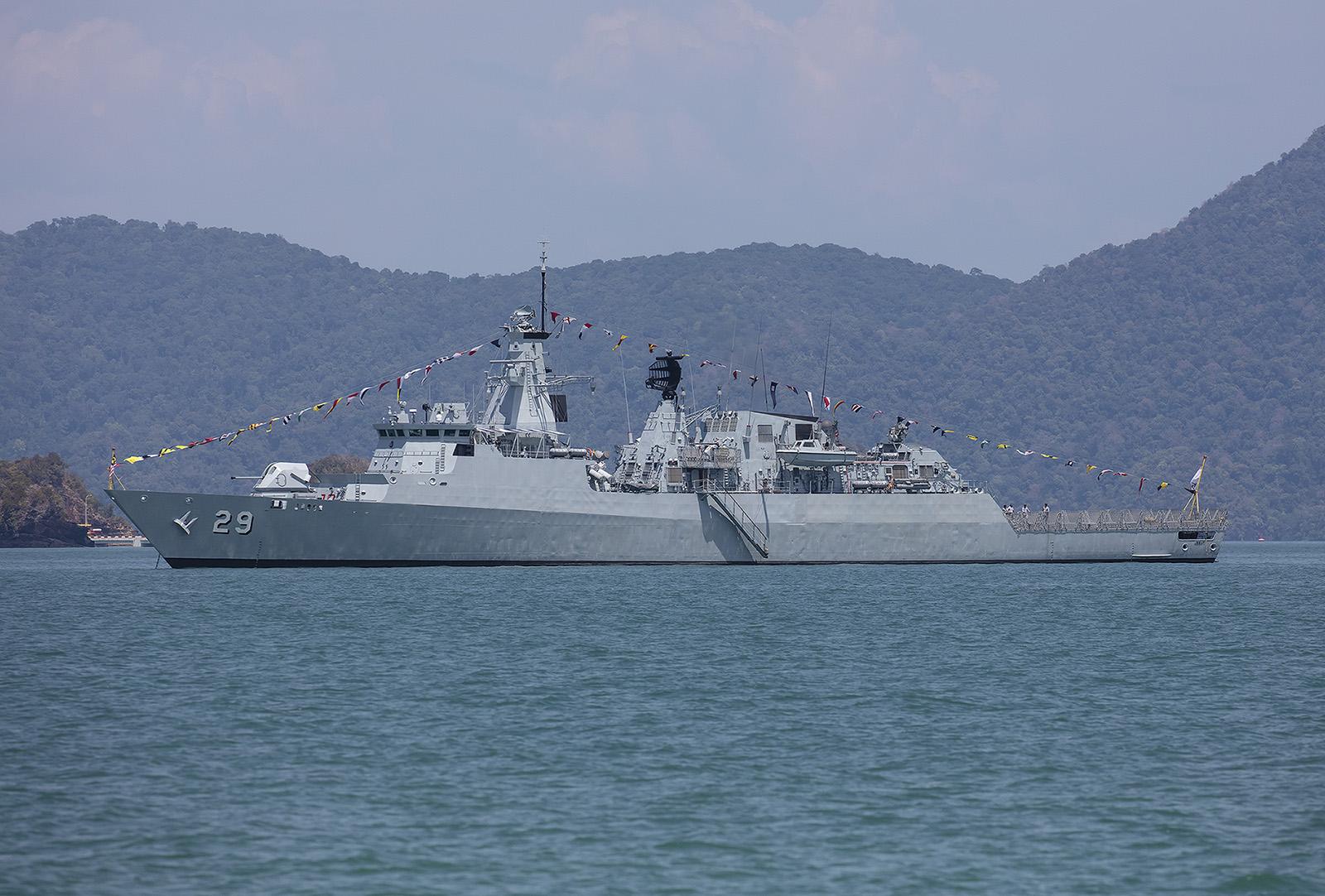 """Die """"Jebat"""" der malaysischen Marine."""
