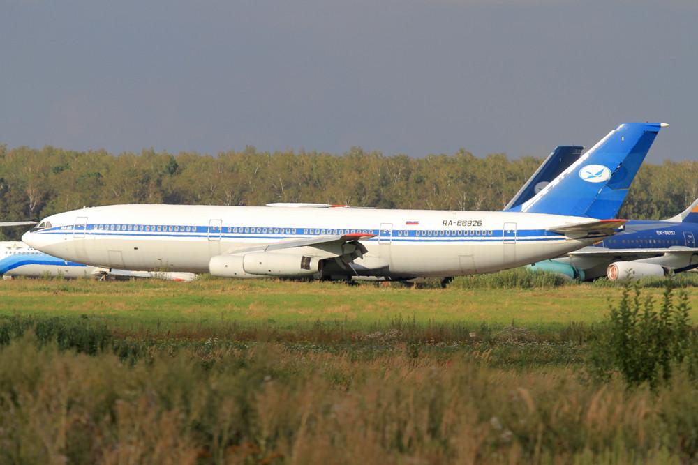 Eine der guten alten IL-86 von Tartastan Airlines.