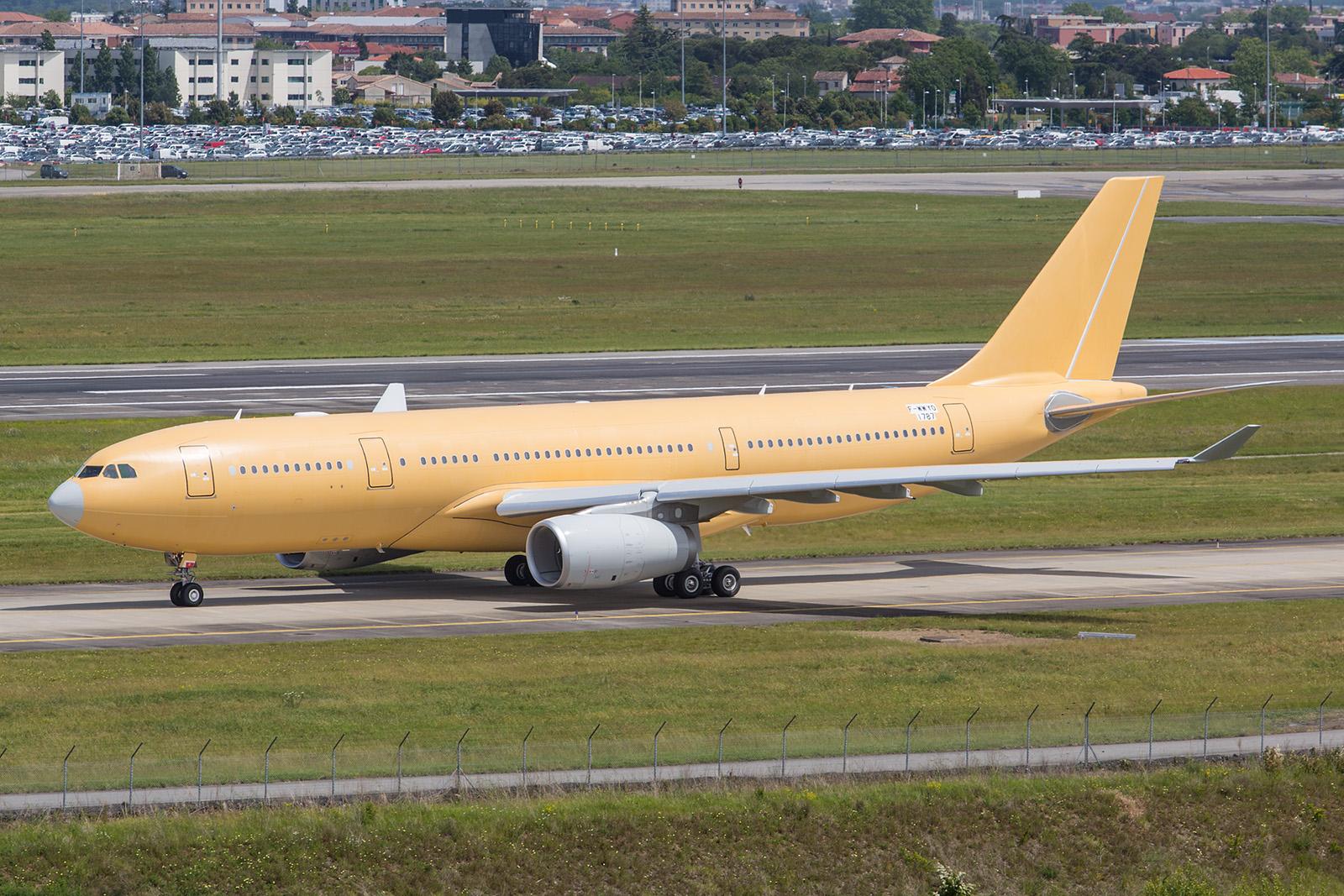 Der erste A330MRTT für die Luftwaffe Südkoreas.